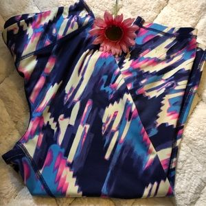 Under Armour abstract leggings
